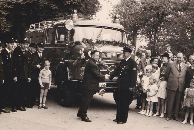 TLF Übergabe 1965
