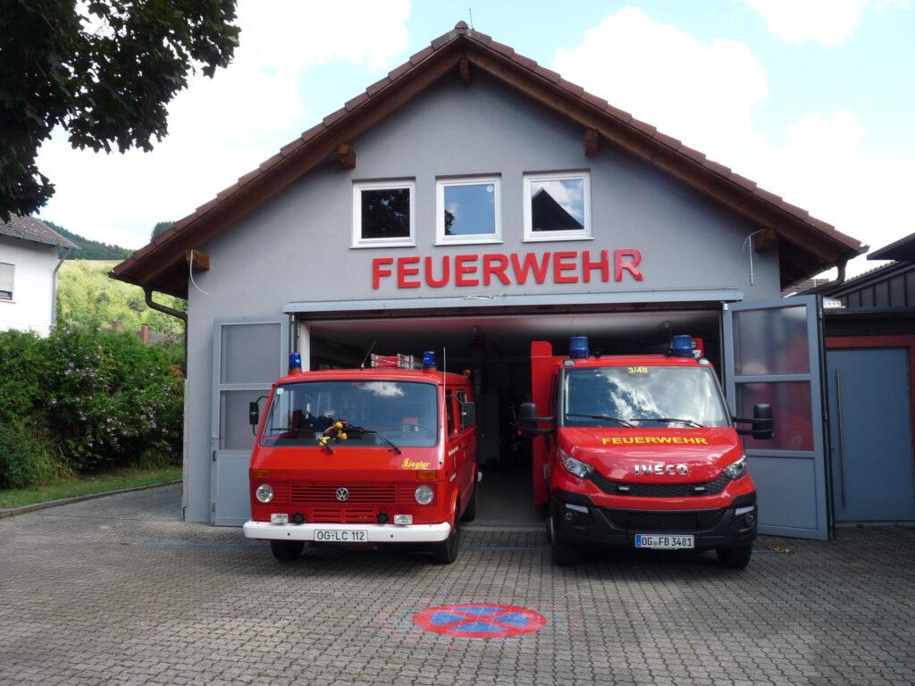 Gerätehaus Bollenbach auf
